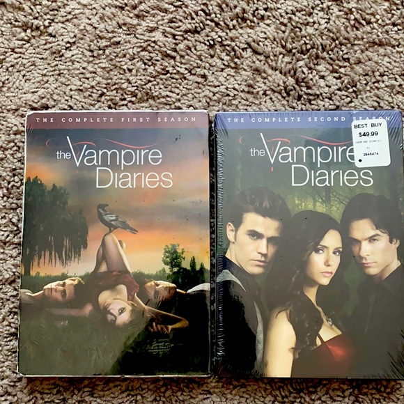 NWT The Vampire Diaries season 1 and 2 📀